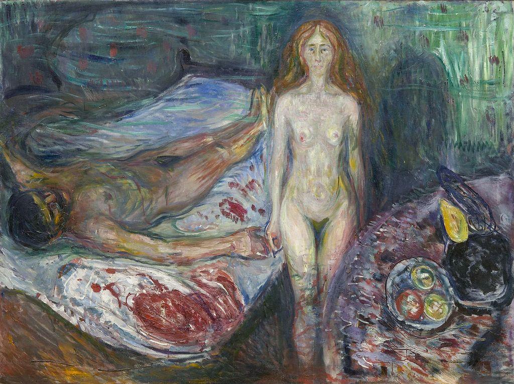La morte di Marat, Edvard Munch